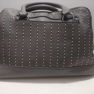 Grey business style bag